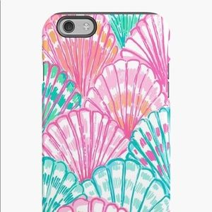 """Lilly Pulitzer """"Oh Shello"""" iPhone 6 phone case 🐚"""